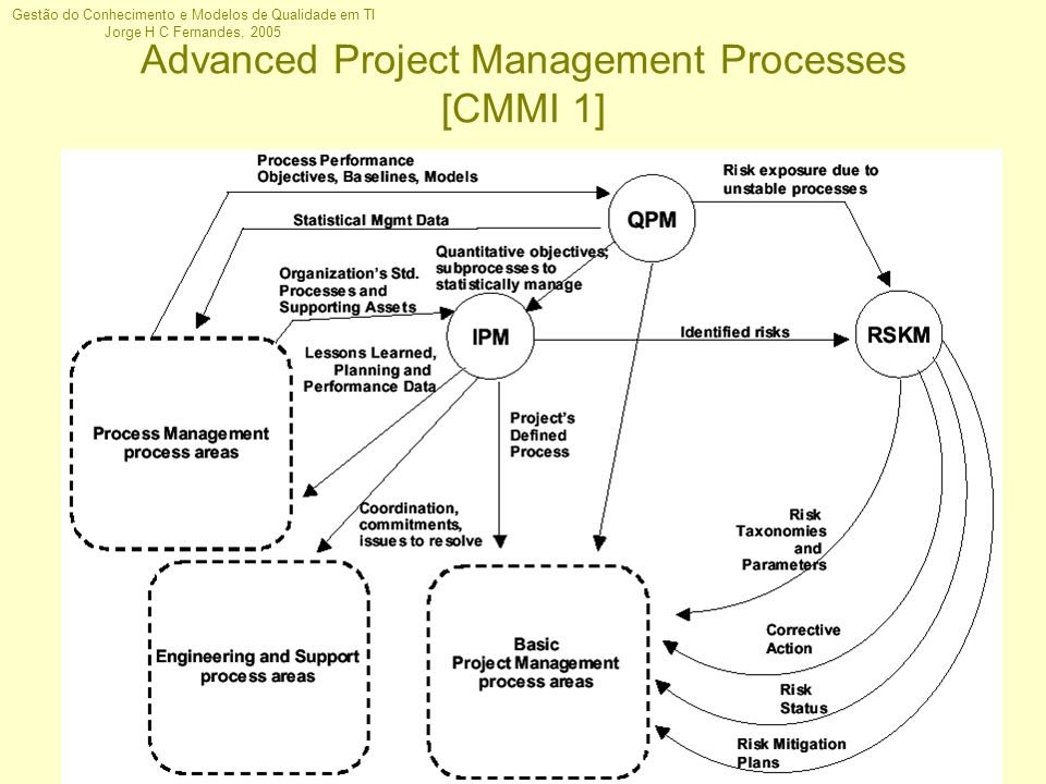 Advanced Project Management Processes [CMMI 1]